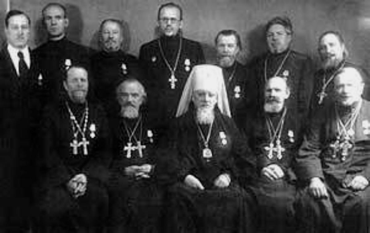 Духовенство награжденное медалями За оборону Ленинграда