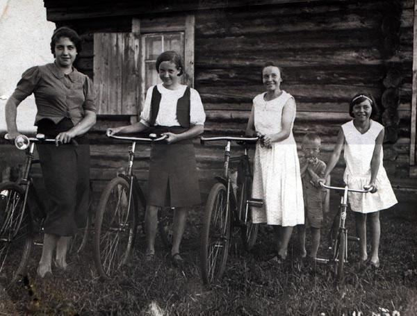 Крестьянки 1939, село, Хакассия. колхоз