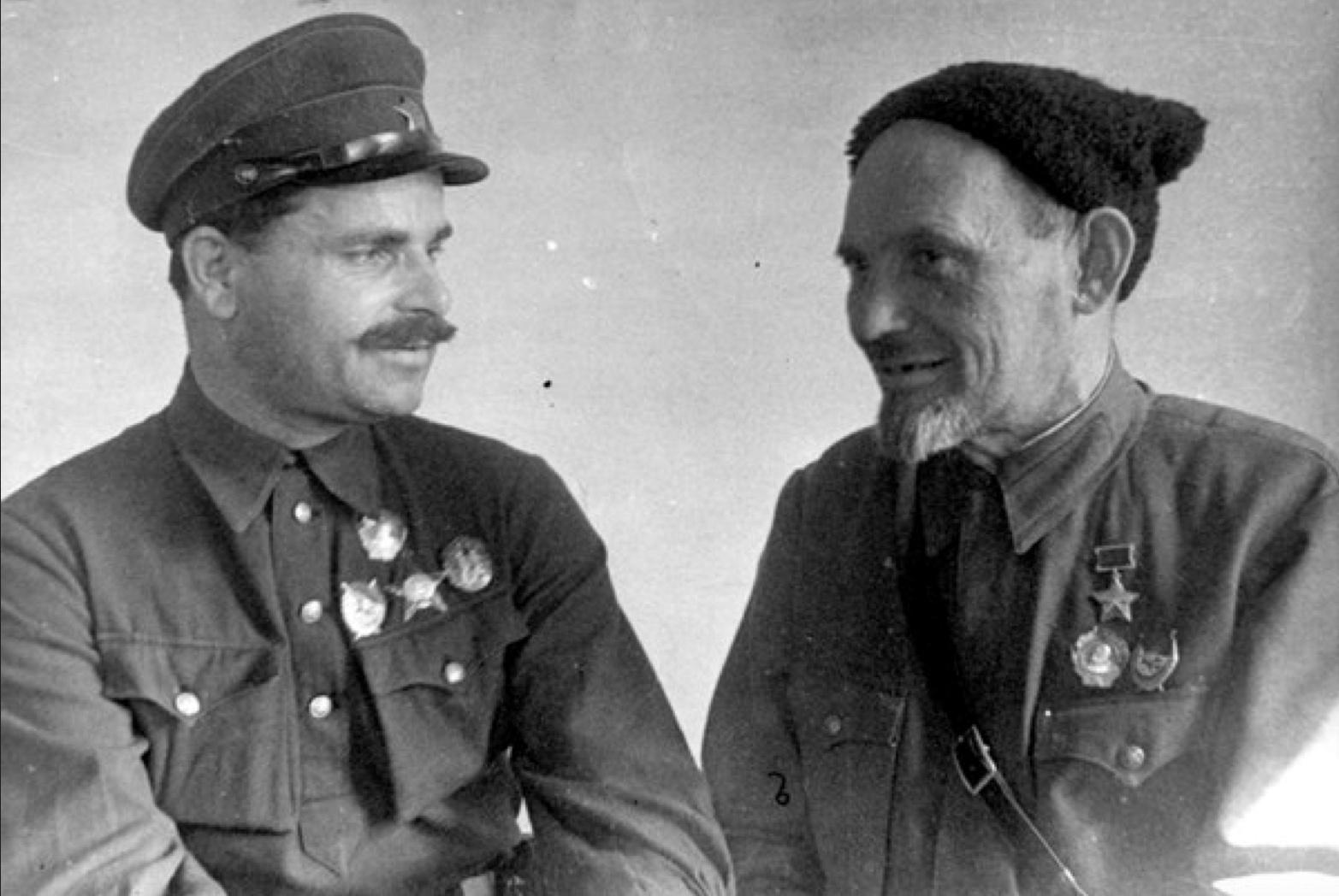Сидор Повпак и Руднев Семен Васильевич