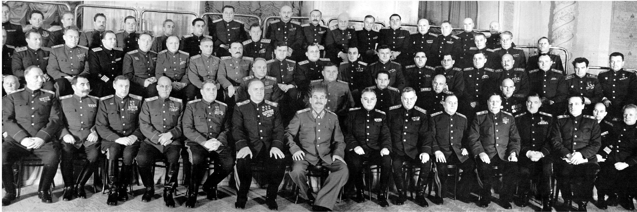 Сталин и генералы!!!
