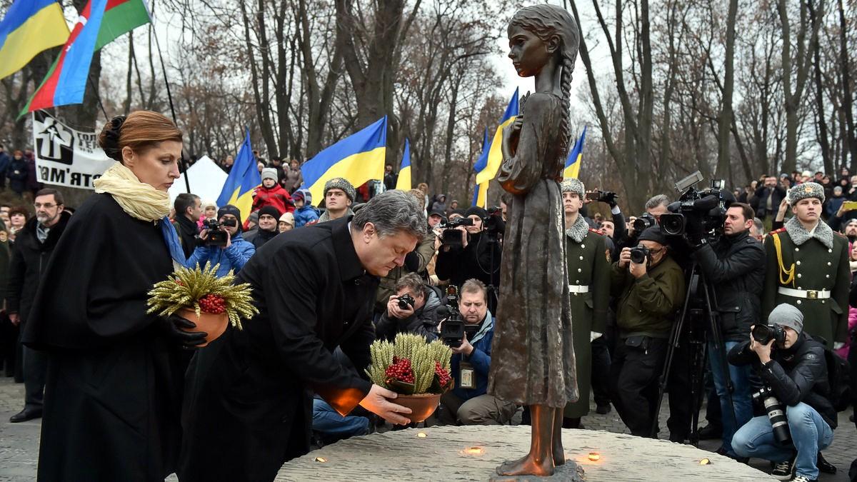 голодомор украина порошенко