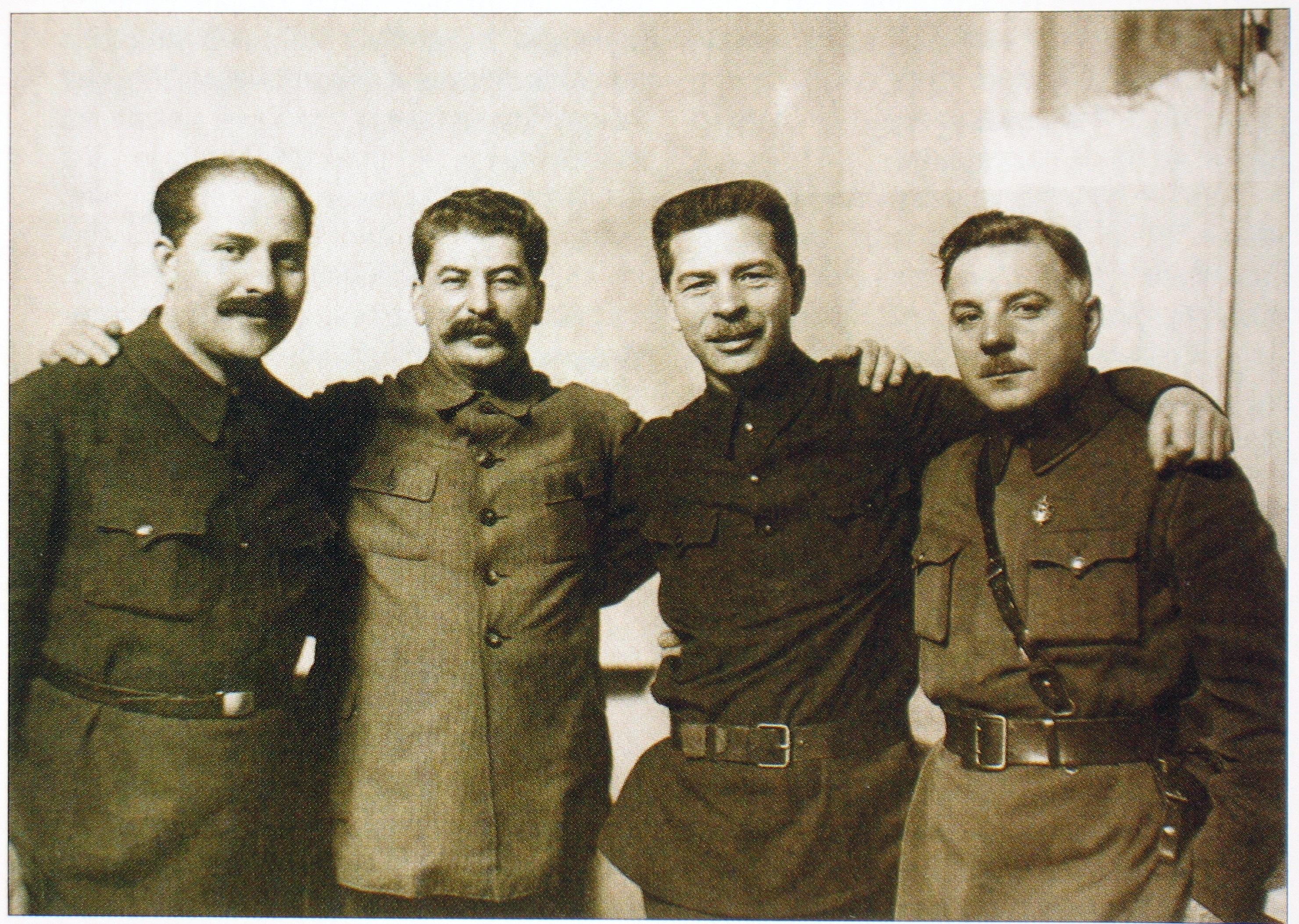 каганович сталин ворошилов