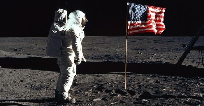 наса на луне