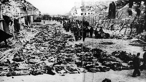 Концлагерь смерти - Саласпилс - фабрика детской крови для гитлеровцев