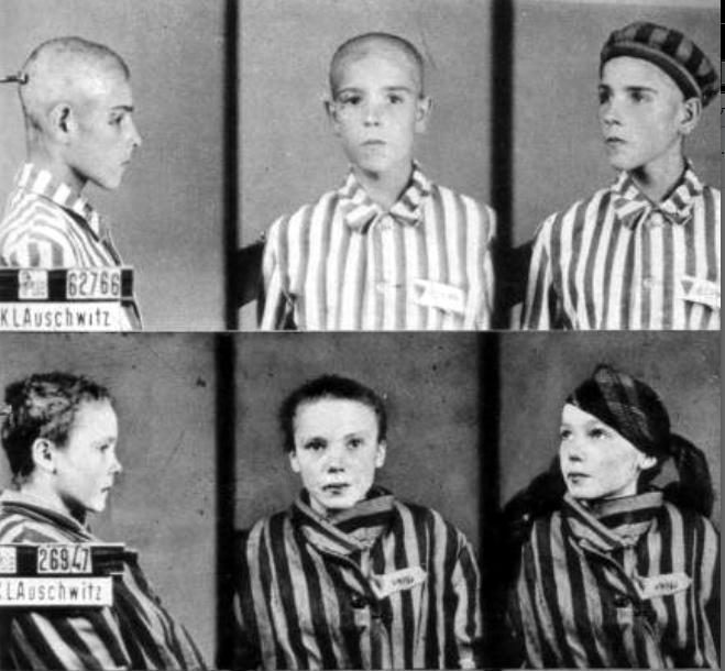концлагерь для детей - фабрика крови - дети фото