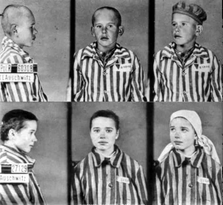 концлагерь для детей - фабрика крови для гитлеровцев - дети фото1