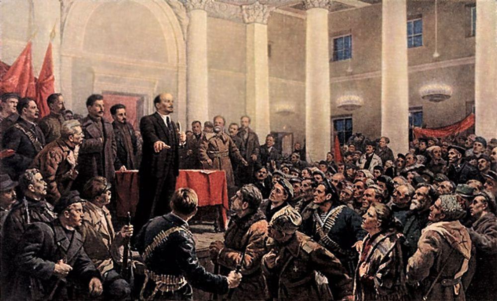 Владимир ленин: через войну к революции