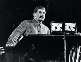 Сталин. Выступление перед избирателями. 1937 год