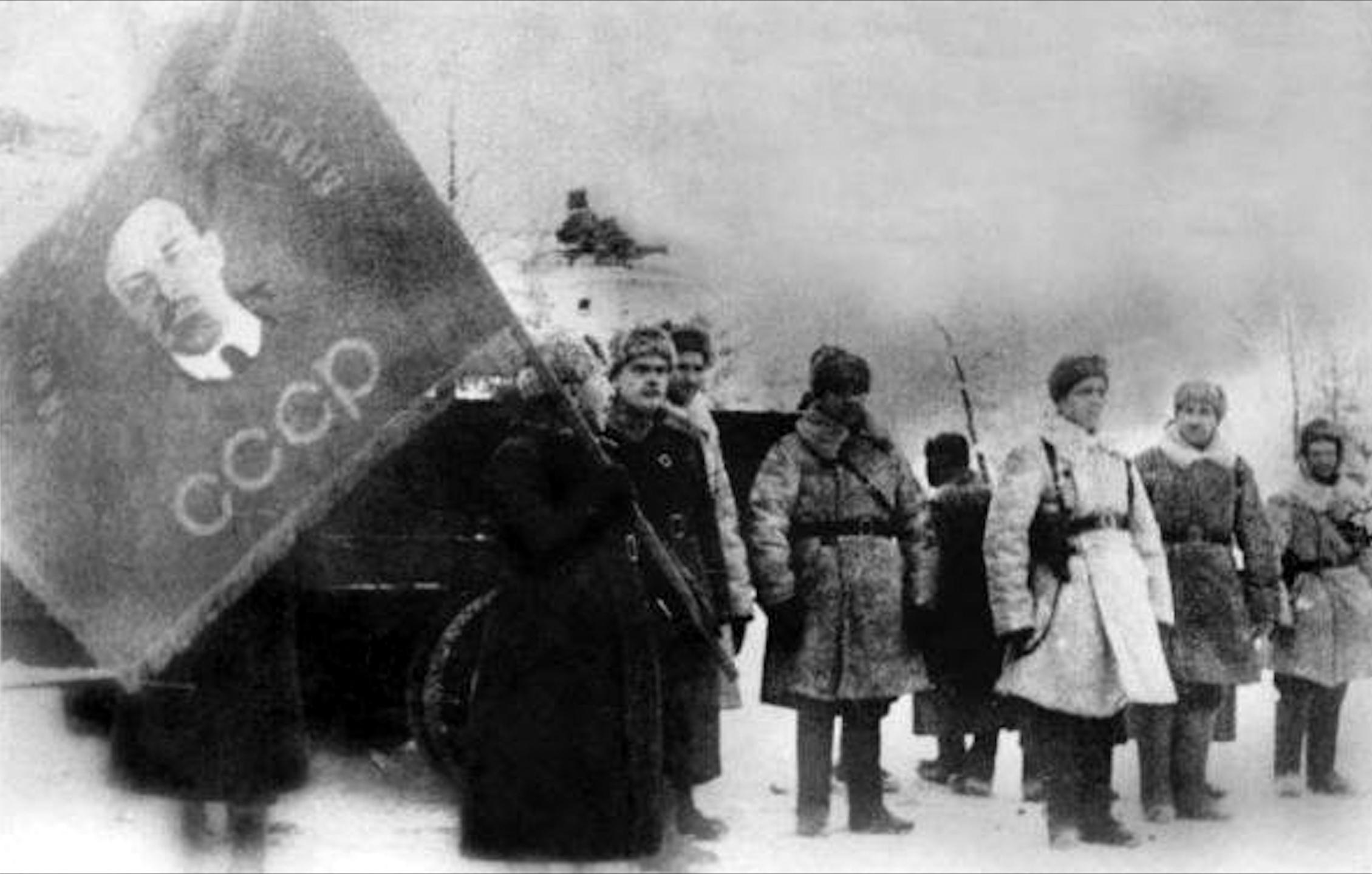 битва за москву - знамя