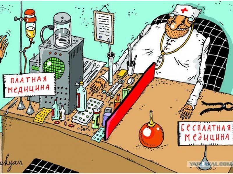 платная и бесплатная медицина