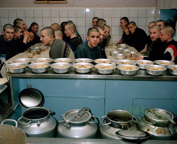 тюрьма россии прием пищи