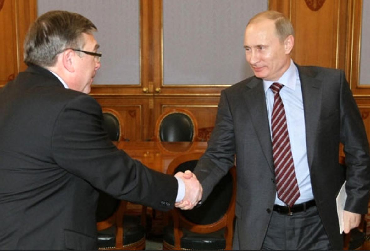 Валерий Рязанский и путин
