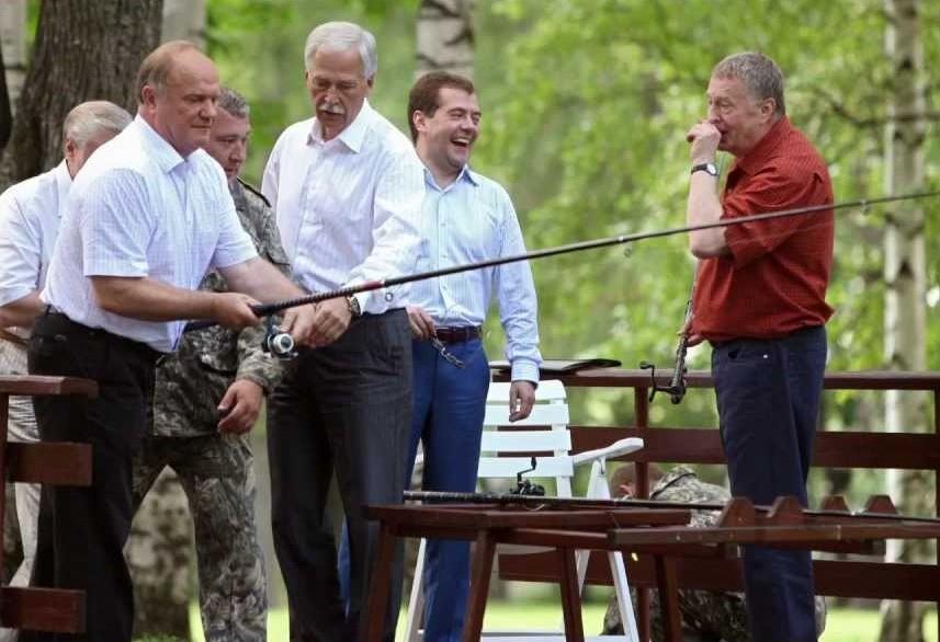 системная оппозиция на рыбалке