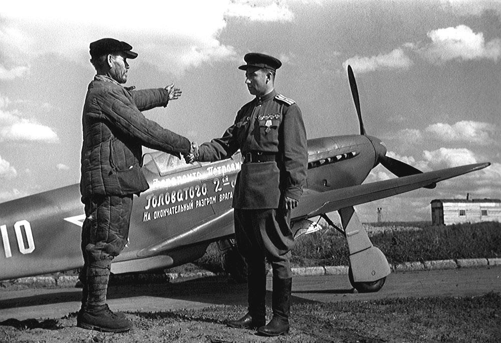 Головатов - крестьянин купил самолет РККА