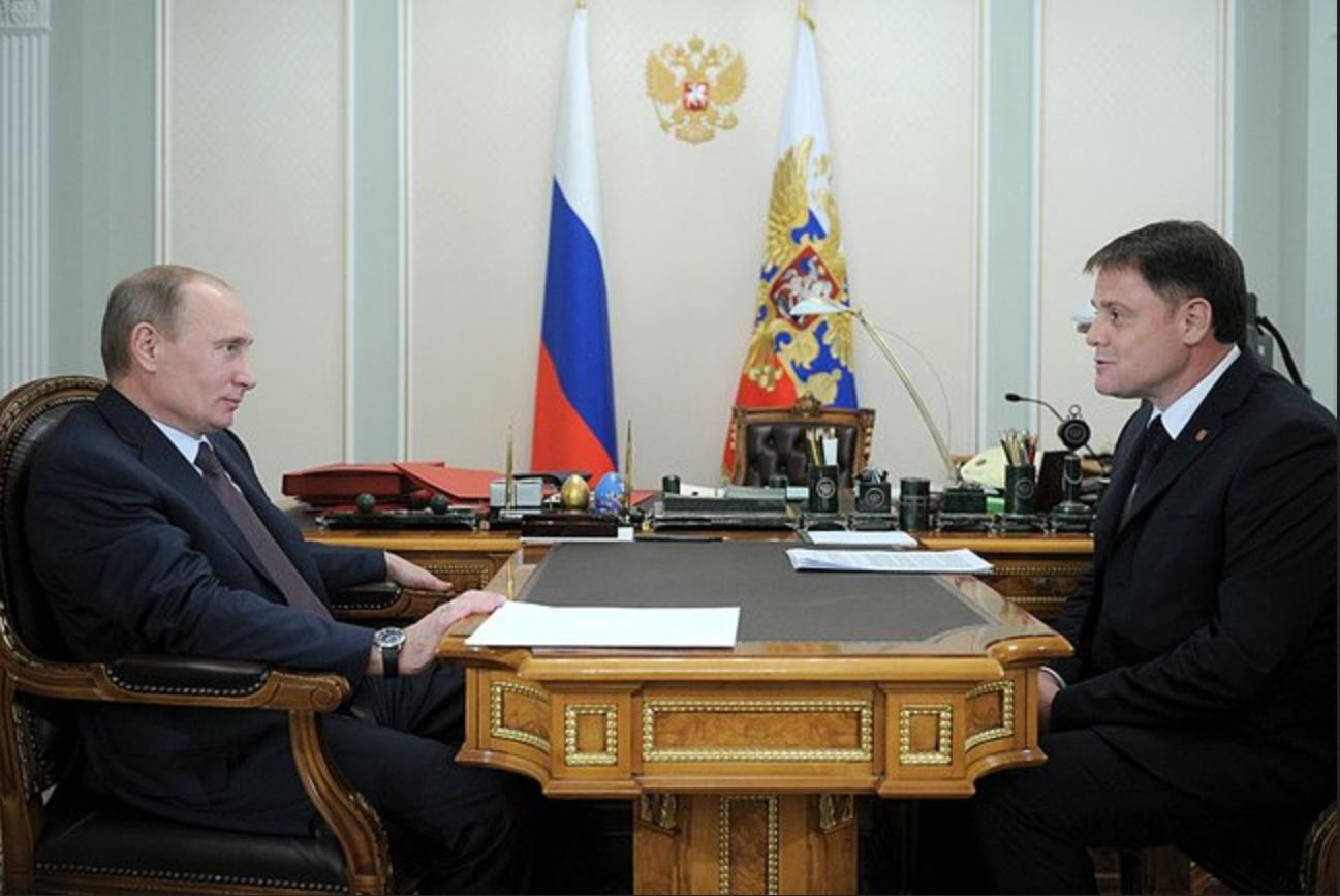 Владимир Груздев и Путин