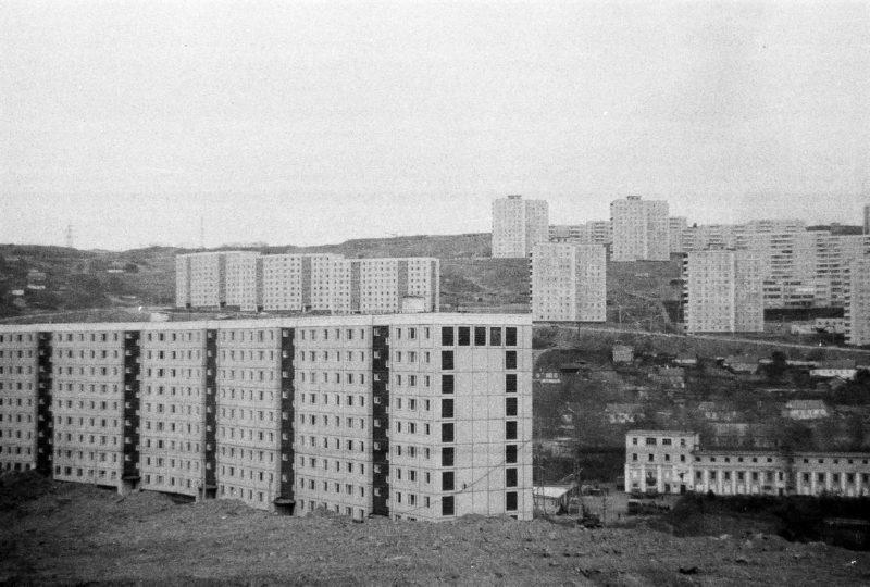 Владивосток - вид на Нейбута-1 со стороны дома 10 ул. Громова. Фтото Артюшенко Олега.