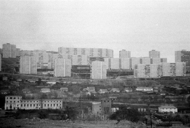 Владивосток - вид на Нейбута-3 со стороны дома 10 ул. Громова. Фтото Артюшенко Олега.
