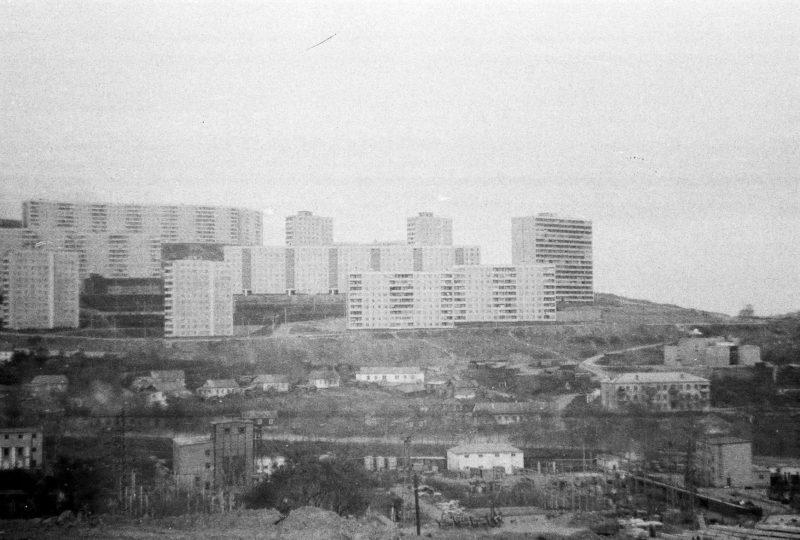 Владивосток - вид на Нейбута-4 со стороны дома 10 ул. Громова. Фтото Артюшенко Олега