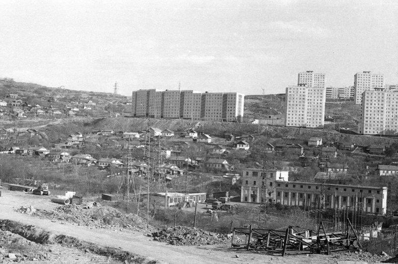 Владивосток - вид на Нуйбута. Фото Артюшенко Олега