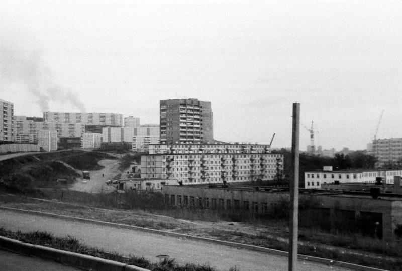 Владивосток - вид на СОШ № 14, ул. Громова 4, 6, 8. Фото Артюшенко Олега