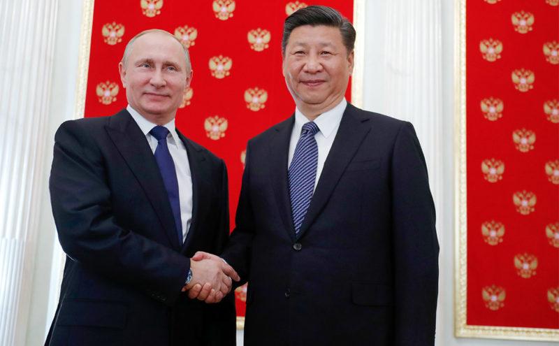 путин и глава китая