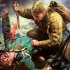 После этого случая гитлеровцы стали бояться вступать в рукопашный бой с красноармейцами